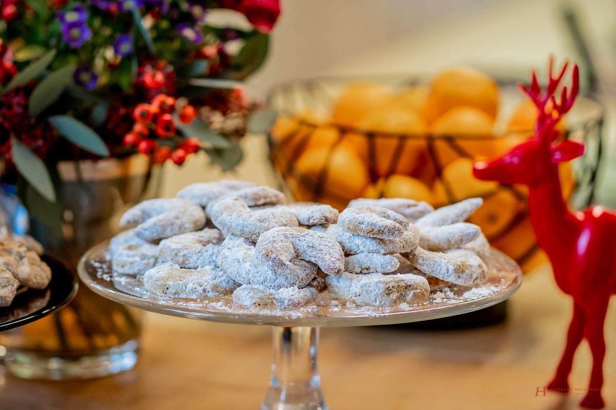 Rezept Vanillekipferl - Schnelle und einfache Anleitung - Schritt für Schritt - Weihnachtsbaeckerei auch für Kinder - traditionelle Backrezepte