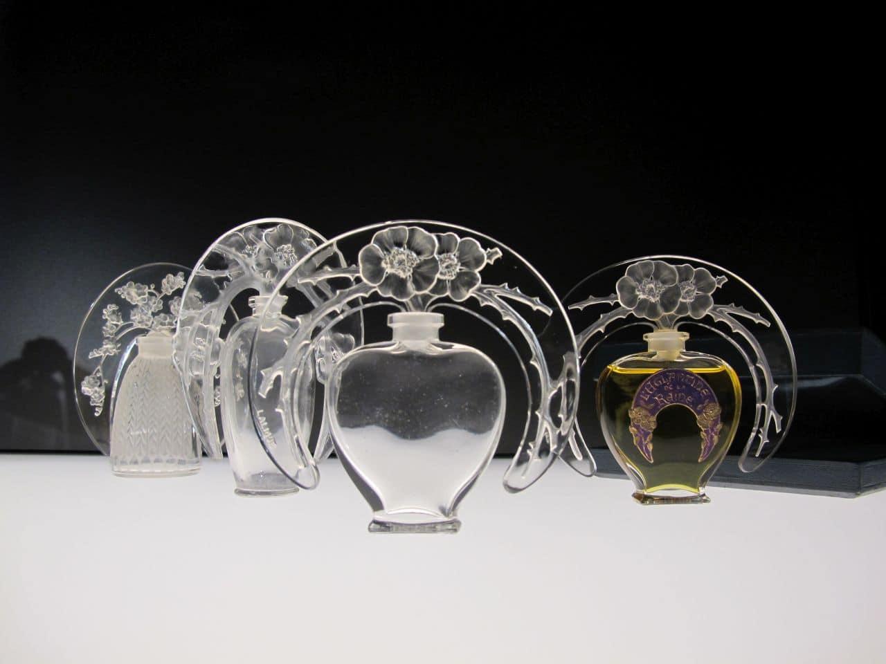Musée Lalique - Parfumflakons © Musée Lalique