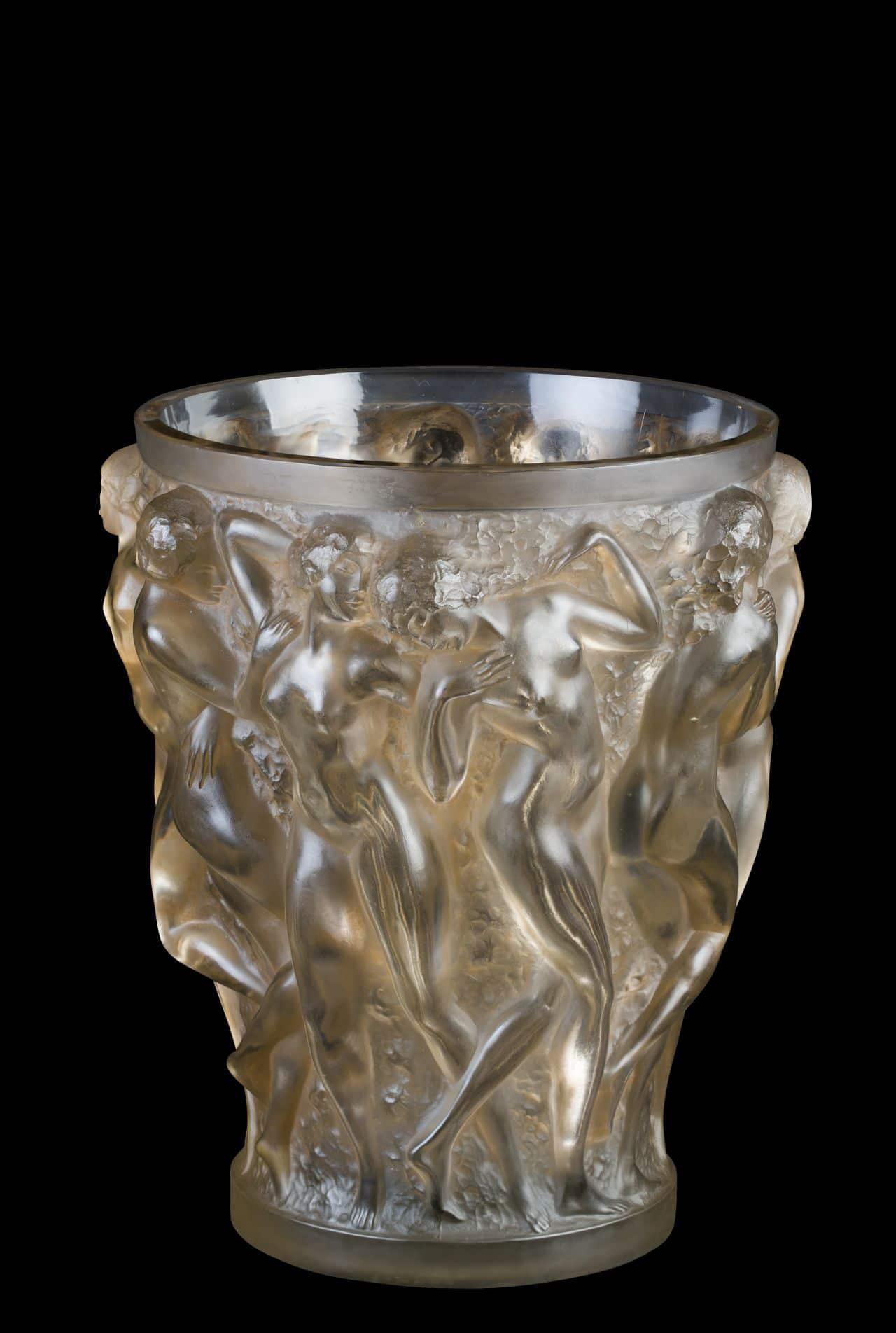 """Musée Lalique - Vase """"Bacchantes"""" © Karine Faby - Coll Musée Lalique (3)"""