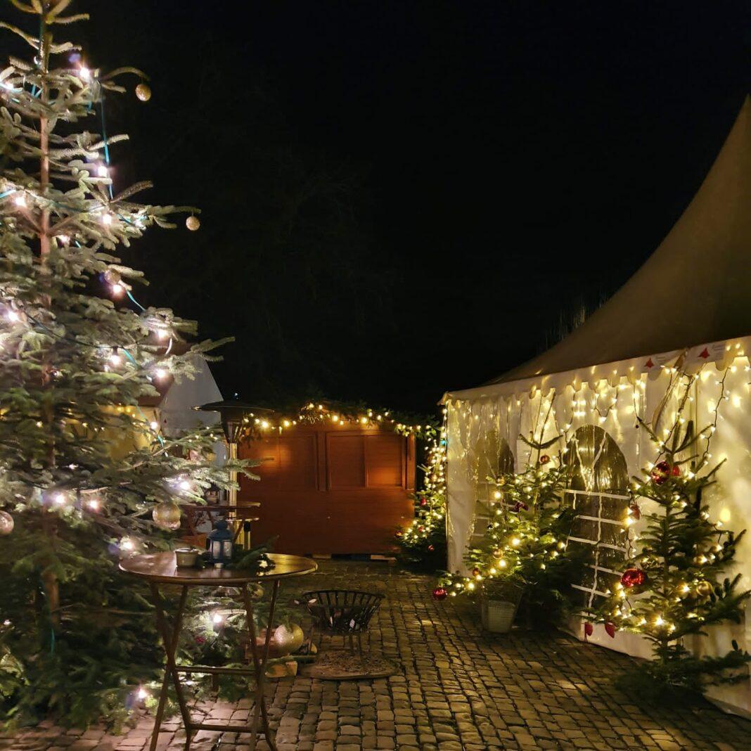 Unser Weihnachtsmarkt im Hotel Kloster Hornbach