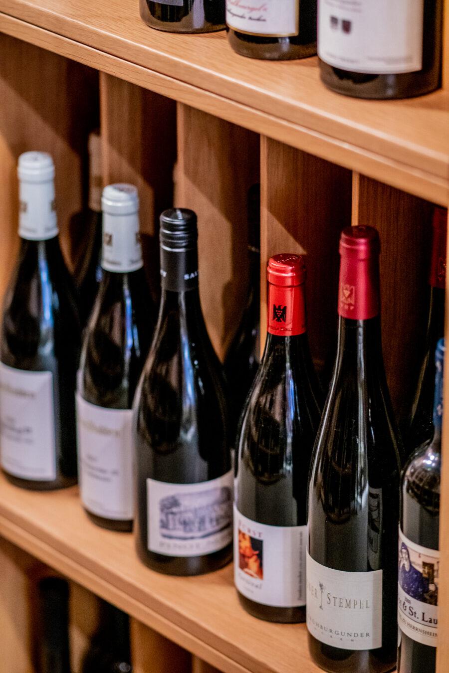 Welcher Wein aus dem Weinkeller des Hotel Kloster Hornbach darf es sein?