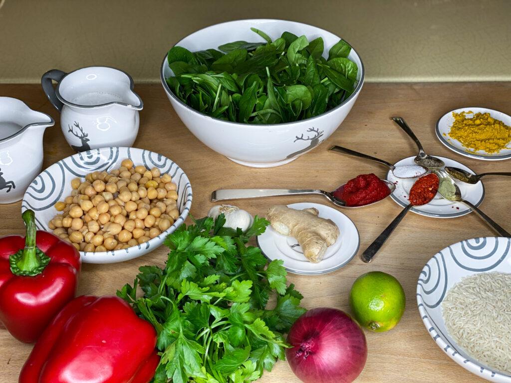 veganes Kichererbsen-Curry, das perfekte Feierabendgericht